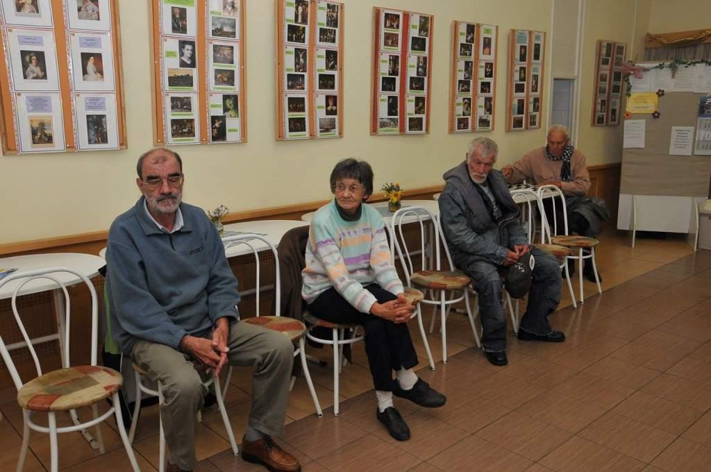 A nyugdíjas klub tagjai megbeszélték évvégéig programjaikat