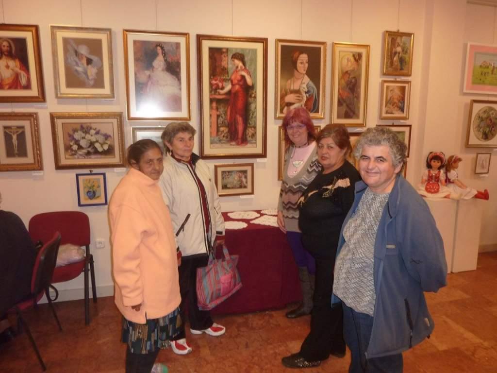 Gobelin kiállításon járt a nyugdíjas klub
