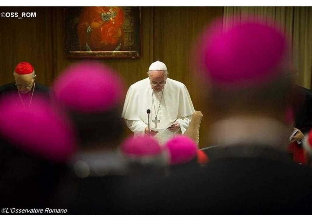 Ferenc pápa szinódusi záróbeszéde: a Szentlélek vezetésével az irgalom jegyében