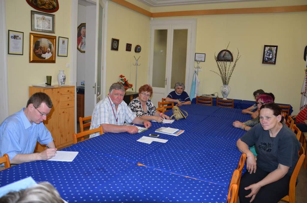 Ülést tartott a Boldog Karol Wojtyla Nyugdíjas Klub