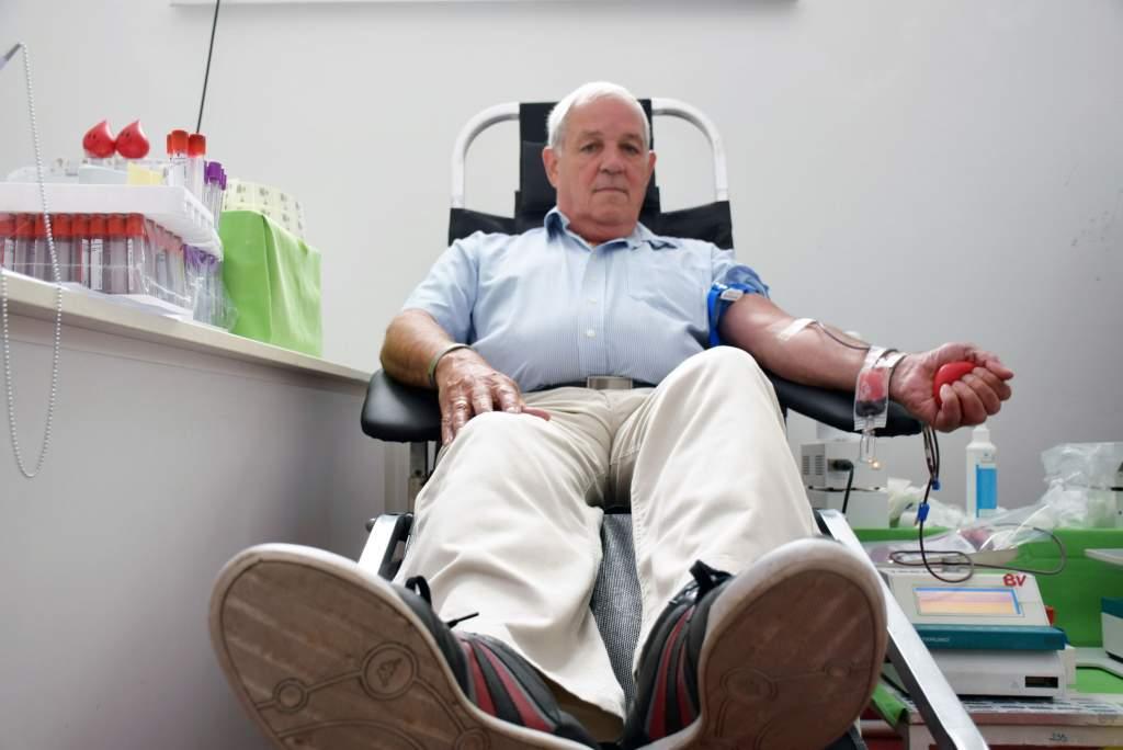 Ötvenedszer adott vért a Wojtyla Ház önkéntese