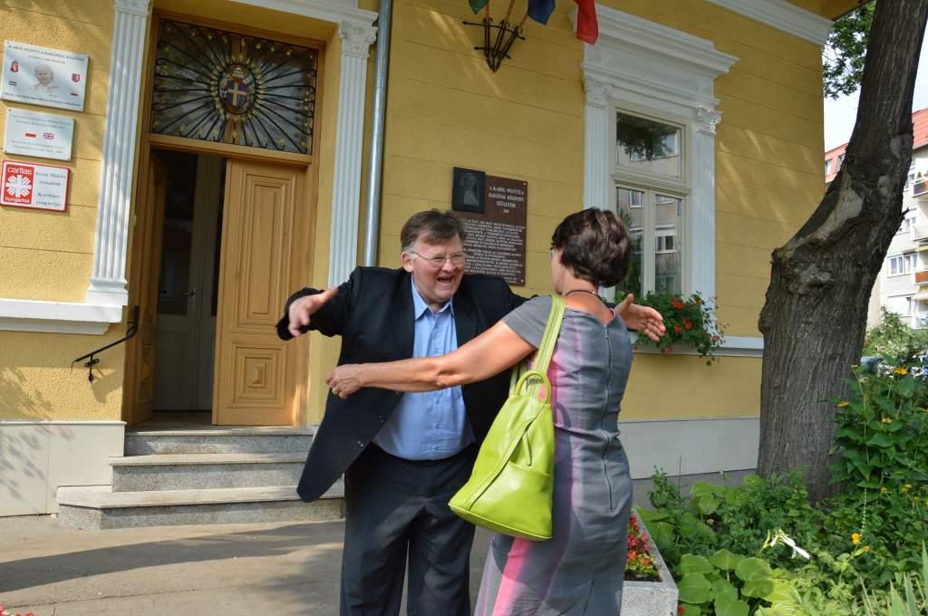 A Wojtyla Házba látogatott Ewa Filipiak lengyel parlamenti képviselő