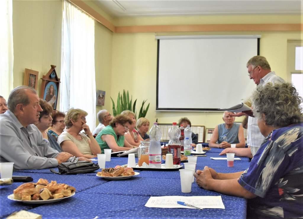 Ülésezett a Karol Wojtyla Nyugdíjas Klub