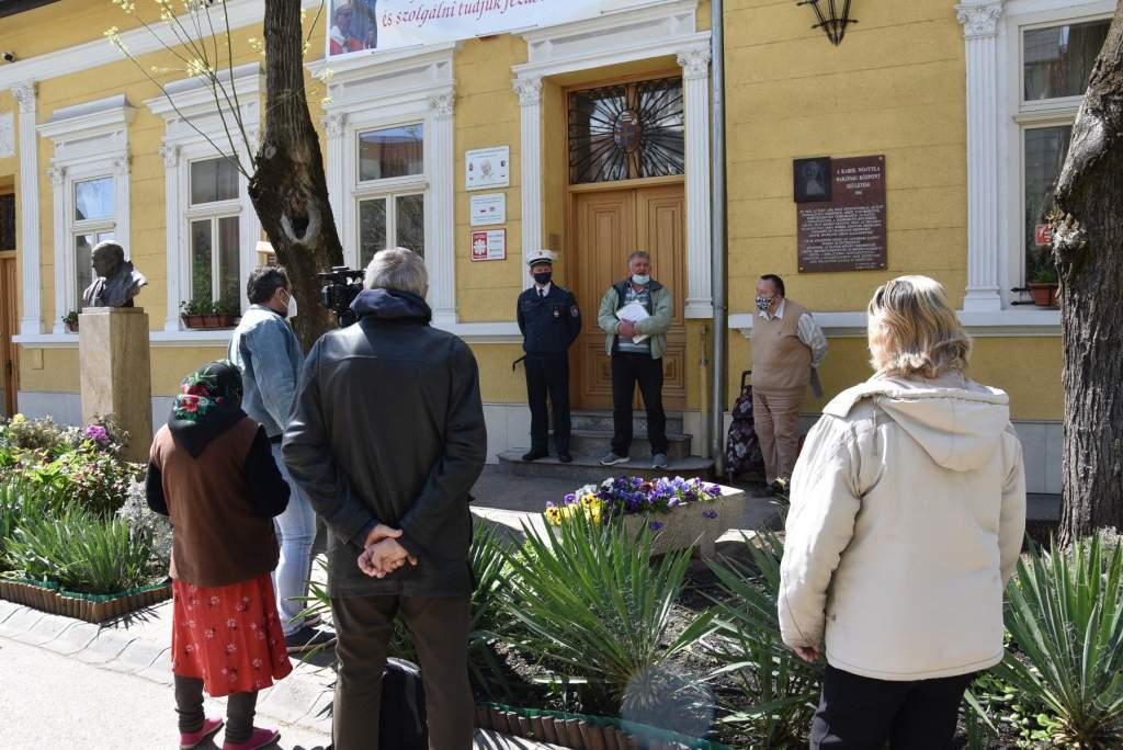 A nagytemplomi hívek ajánlottak fel szeretetebédet a Wojtyla Ház szegényeinek