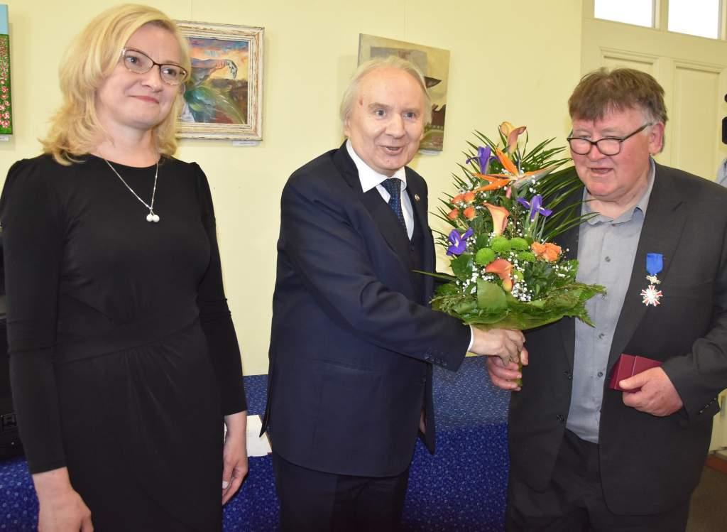 Lengyel állami kitüntetést kapott Farkas P. József, a Wojtyla Ház alapító-igazgatója