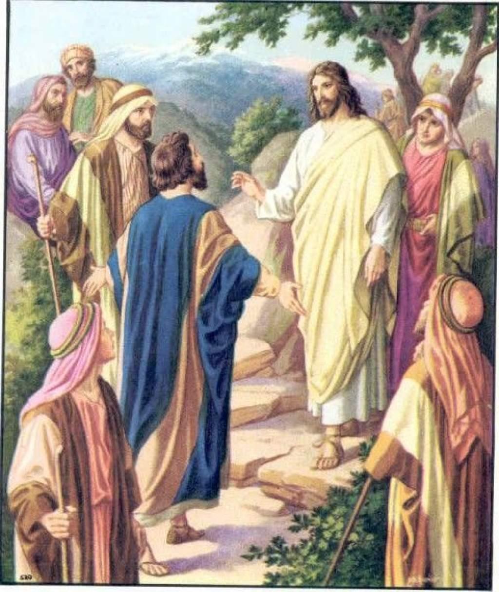 """Napi evangélium """"Isten nem azért küldte Fiát a világba, hogy elítélje a világot, hanem hogy általa üdvözüljön a világ."""""""