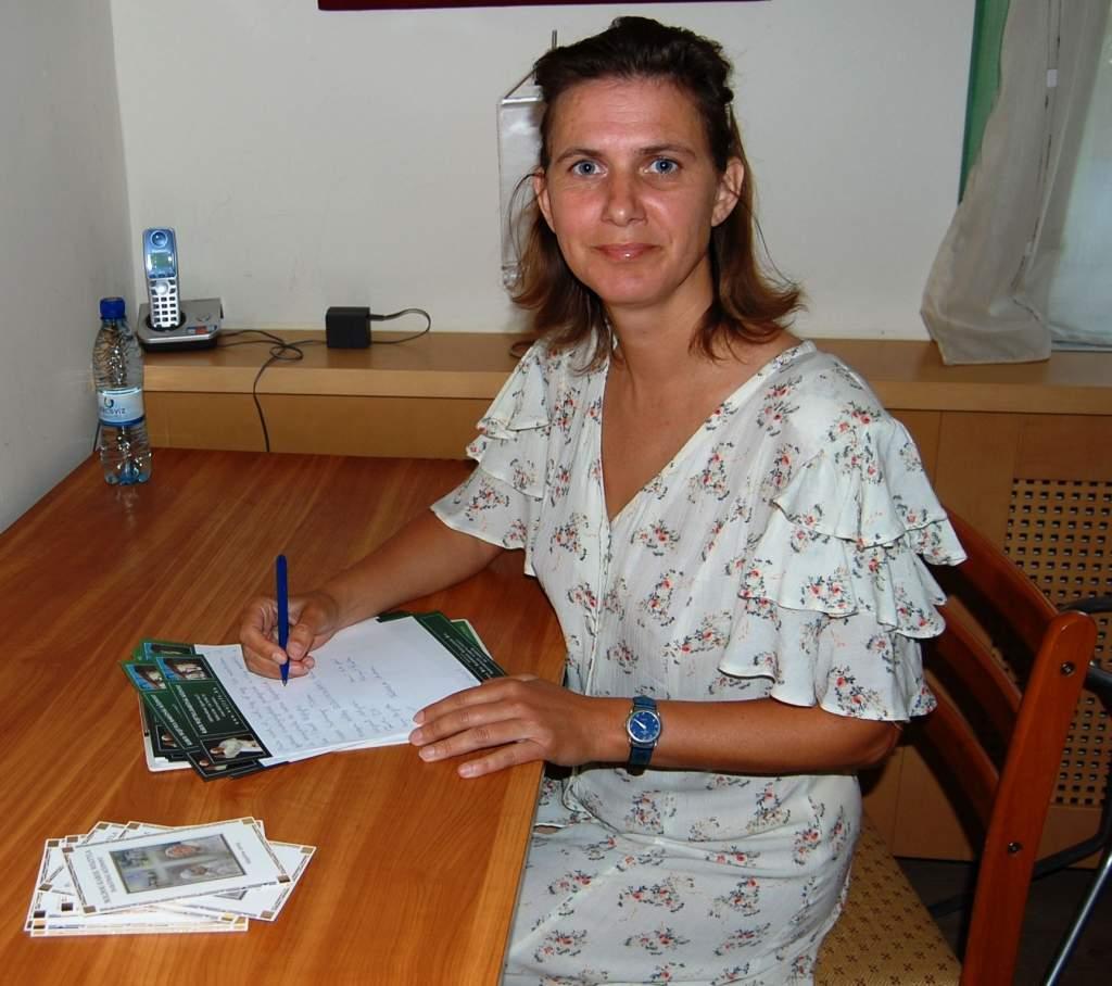 """""""NAGYON SZERETEK EMBEREKKEL FOGLALKOZNI!"""": Novák Mária"""