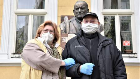 A Vidám Törzsasztal és a német írónő szolgált ebéddel