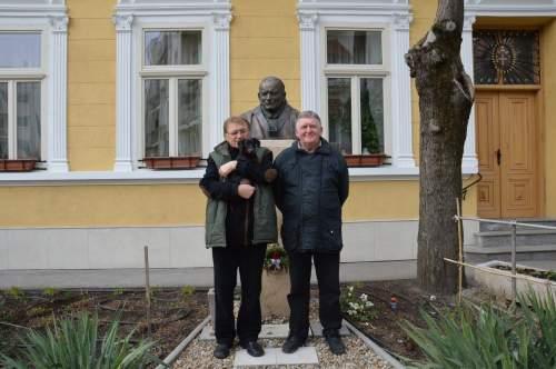 Schindler János és Burányi Roland ebédje
